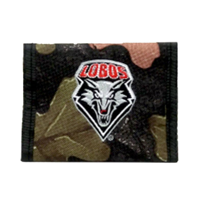 UNM Camo Shield Wallet
