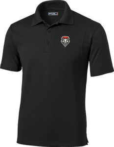 Black UNM Men's Performance Polo