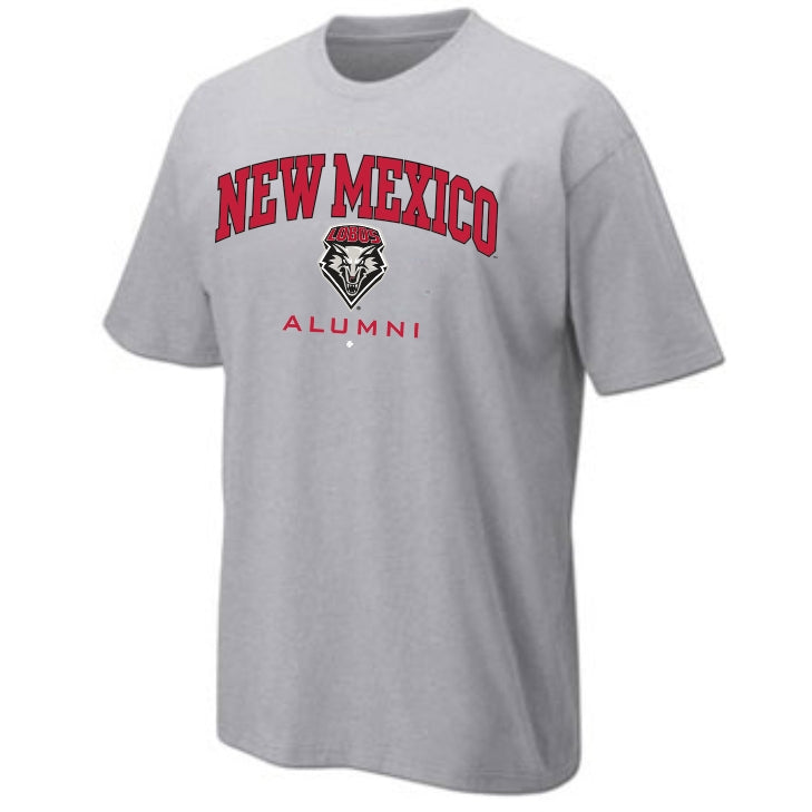 New Mexico Alumni Tee - Sport Gray