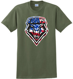 "Lobos ""Salute to Service"" Shield T-Shirt"