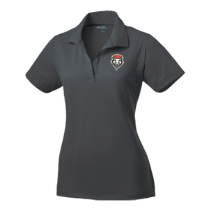 Iron Grey UNM Women's Performance Polo