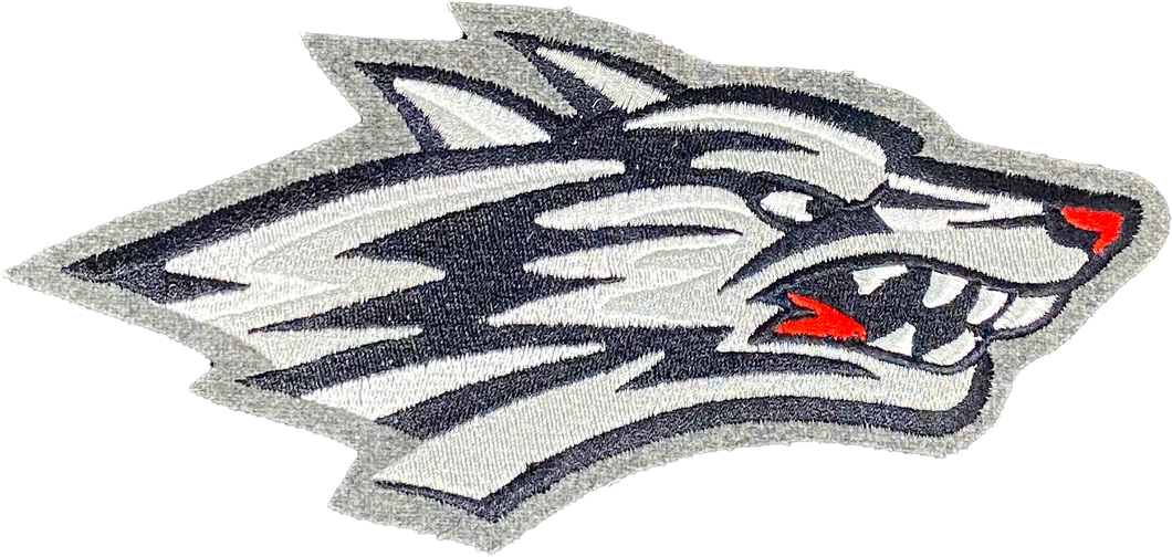 Lobo Profile Embroidered Patch - 4