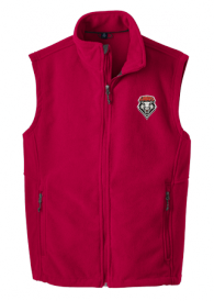 Lobos Red Fleece Vest