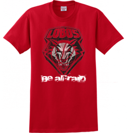 Lobos Red ~Be Afraid~ T-Shirt