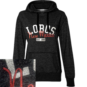New Mexico Lobos Glitter Sweatshirt