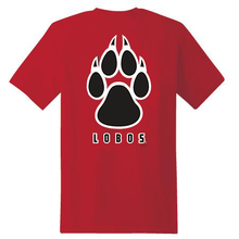 Load image into Gallery viewer, Red Lobos Paw Youth/Toddler T-Shirt
