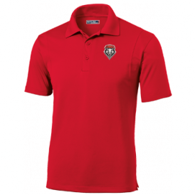 Red UNM Men's Performance Polo