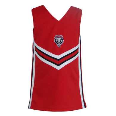 Red UNM Shield Youth Cheer Set