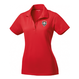 Red UNM Women's Performance Polo