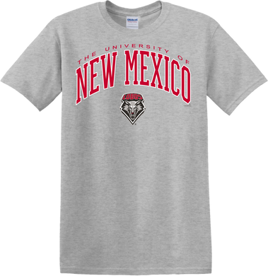 UNM Arch Gray T-Shirt