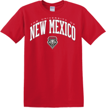Load image into Gallery viewer, UNM Arch Red T-Shirt