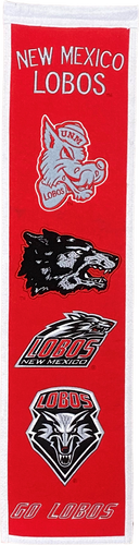 UNM Heritage Embroidered Banner