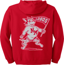 Load image into Gallery viewer, 1948 Lobos Red Zip Hood