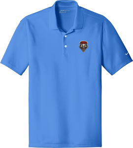 NIKE Men's Dri-Fit Polo with Embroidered Shield