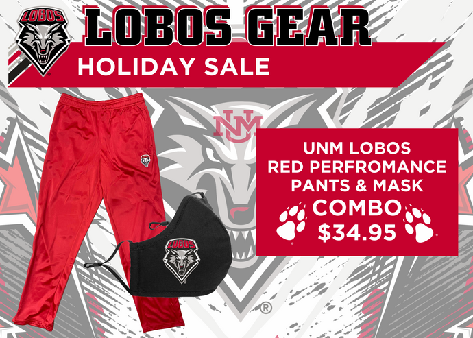 Lobos Performance Pants and Mask Combo Pack