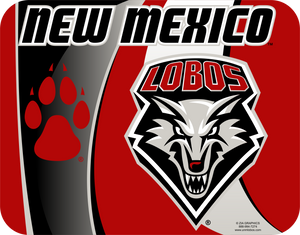 New Mexico Lobos Mouse Pad