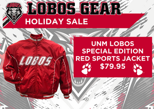 Special Edition Lobos Red Sports Jacket