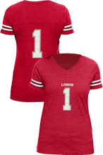 Load image into Gallery viewer, Lobos #1 Ladies Jersey T-Shirt