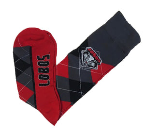 Lobos Argyle Zoom Socks