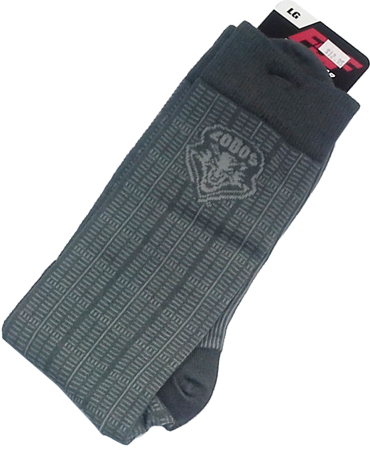 UNM Executive w/Logo Grey Sock