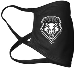 Lobos Black Mask with White Shield