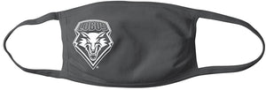 Lobo Gray Mask with White Shield