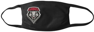 Black Lobos Mask with Color Shield