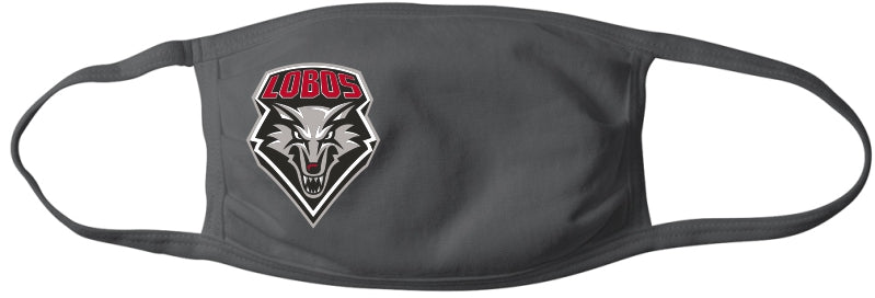 Lobo Gray Mask with Full Color Shield