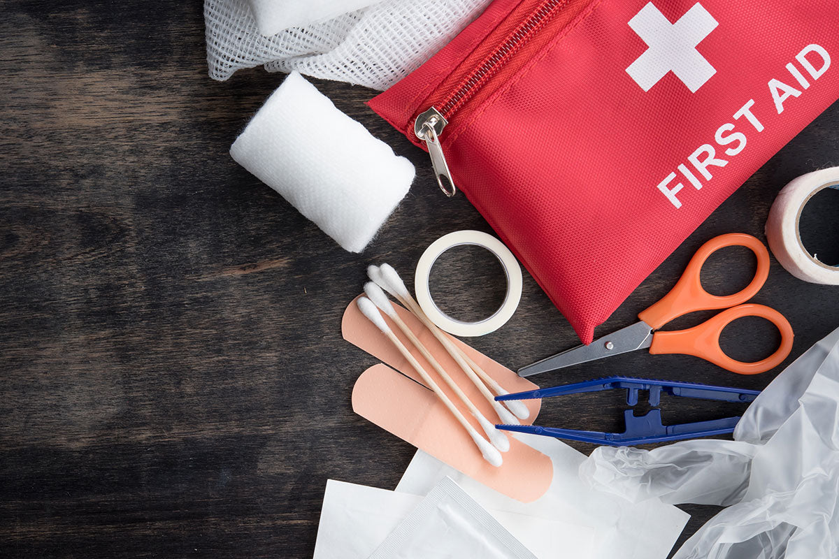 First Aid kits:  Not only essential for safety but also for compliance