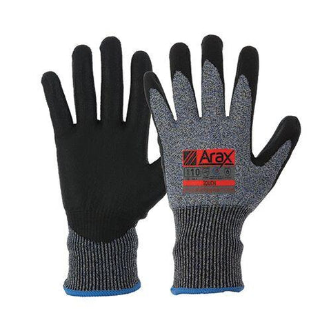 Pro Choice Gloves Arax Waterbased PU Dip On 13G Liner
