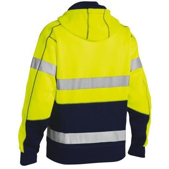 Bisley - Taped Hi Vis Fleece Hoodie