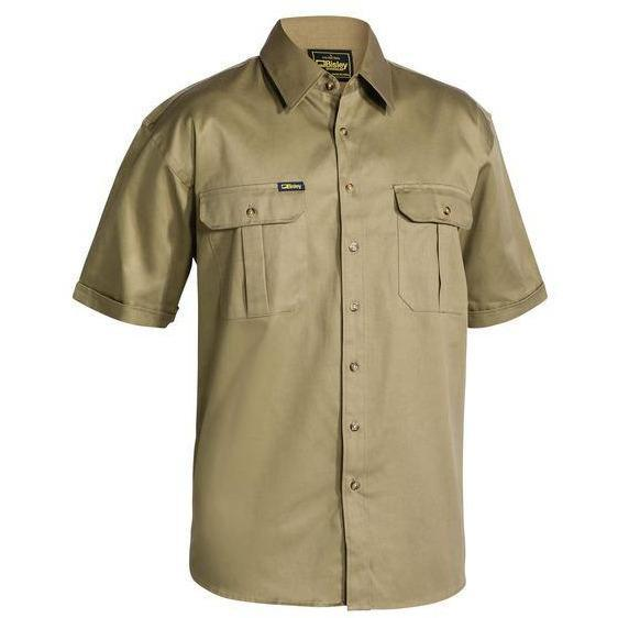 Bisley - Original Cotton Mens Drill Shirt - Short Sleeve