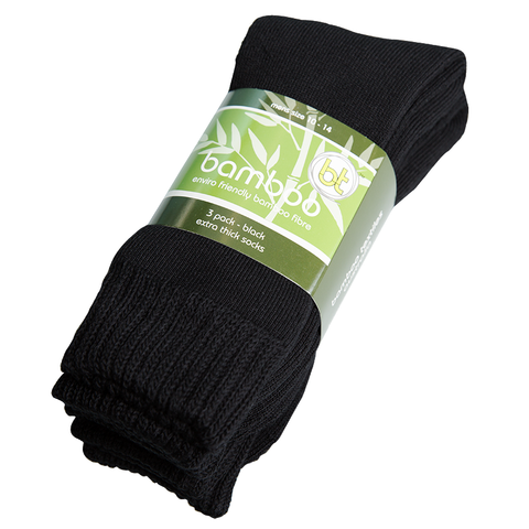 Bamboo Textiles Bamboo Extra Thick 3-Pack