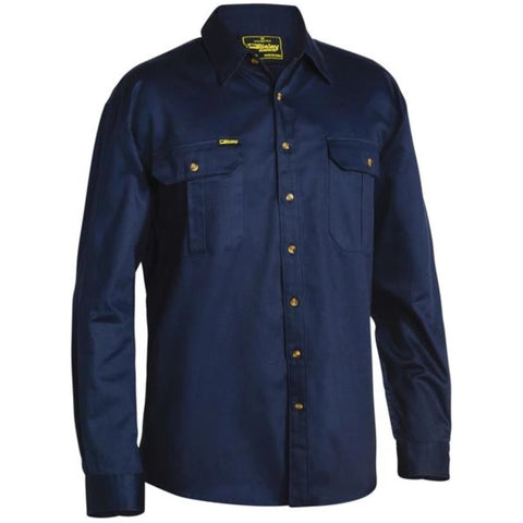 Bisley - Original Cotton Mens Drill Shirt - Long Sleeve