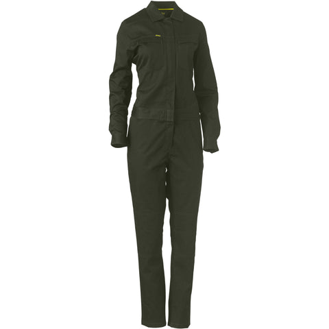 Bisley Womens Cotton Coverall