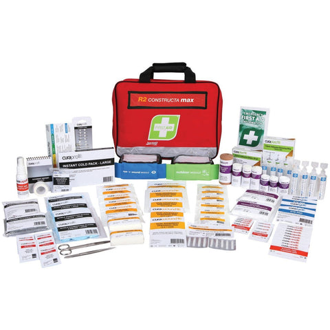 FastAid First Aid Kit- R2- Constructa Max Kit- Soft Pack