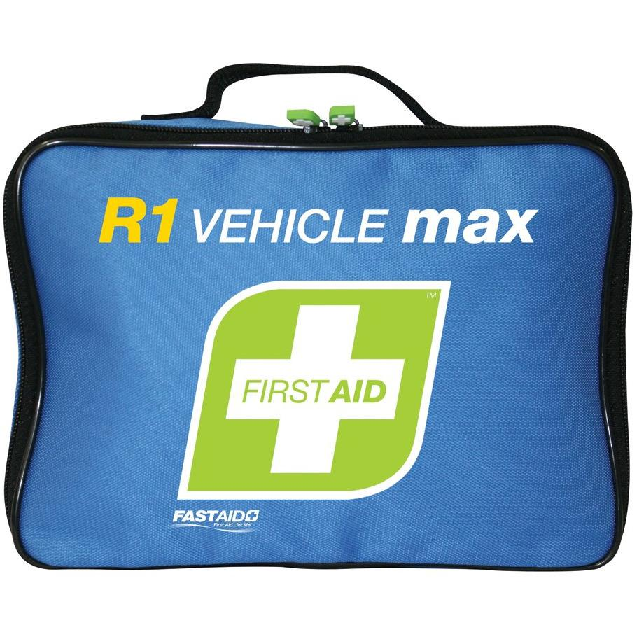 FastAid First Aid Kit- R1- Vehicle Max- Soft Pack