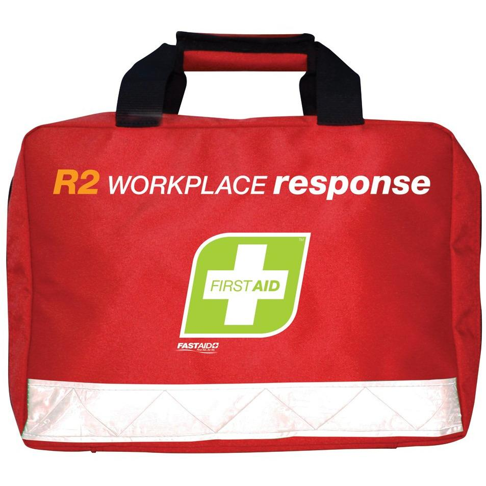 FastAid First Aid Kit- R2- Workplace Response Kit- Soft Pack