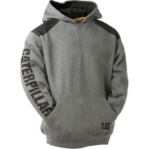 CAT Trademark Banner Hooded Sweat