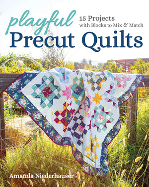 Sew-Along With June-Playful Precut Quilts