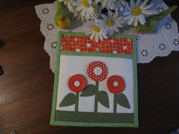 Pot Holders for All Seasons-'May Flowers'