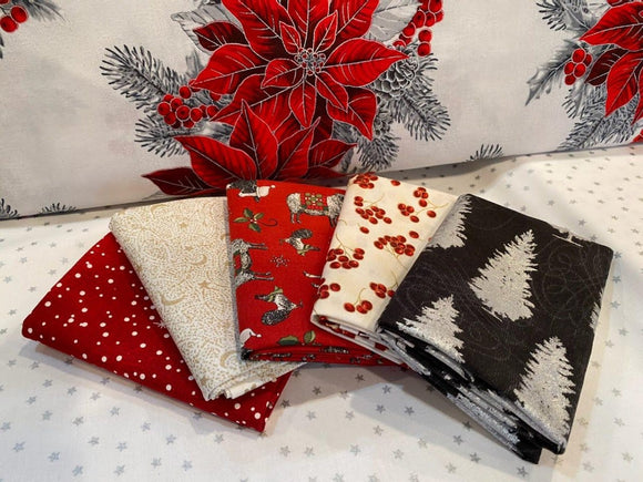 Christmas Mystery Fat Quarter Bundle