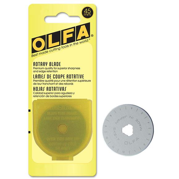 OLFA Rotary Cutter Replacement Blade - 45mm