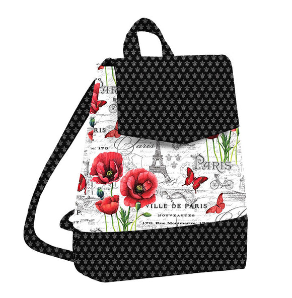 Izzie Convertible Backpack-Pattern