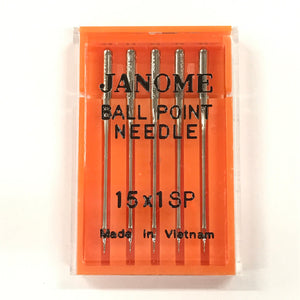 Janome Ball Point Needles Assorted