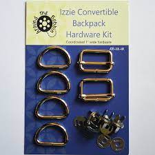 Izzie Convertible Backpack-Hardware Kit