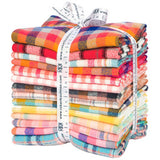Mammoth Junior Flannel for Robert Kaufman-Warm-Fat Quarter Bundle