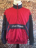 Vintage 90's Team USA Gymnastics Windbreaker