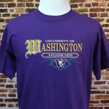 Vintage 90's Washington Huskies Embroidered Tee