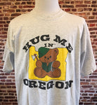 "Vintage 80's ""Hug Me In Oregon"" Tee"